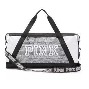 Victoria's Secret Pink Duffle Travel Gym Bag